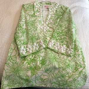 Lilly Pulitzer tunic. New never worn.